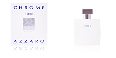 Azzaro CHROME PURE eau de toilette vaporizador 50 ml