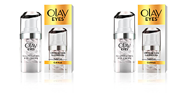 Dark circles, eye bags & under eyes cream EYES crema ojos iluminadora anti-ojeras Olay