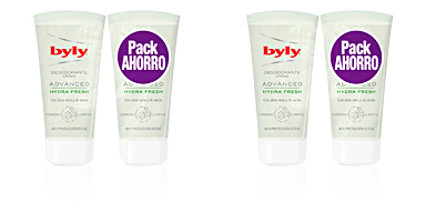 Set baño e higiene ADVANCE FRESH DEODORANT CREAM LOTE Byly