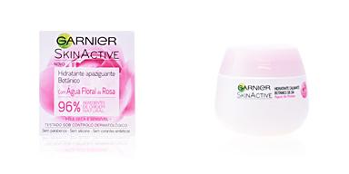 Soin du visage hydratant SKINACTIVE AGUA DE ROSAS crema hidratante calmante Garnier