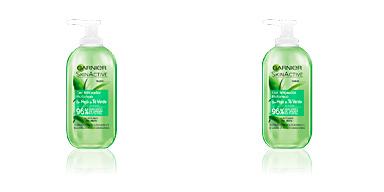 Facial cleanser SKINACTIVE HOJA DE TÉ VERDE gel limpiador Garnier