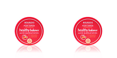 Bourjois HEALTHY BALANCE unifying powder #55-dark beige 9 gr