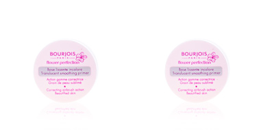 Poudres libres FLOWER PERFECTION base lissante incolore Bourjois