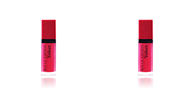 Bourjois ROUGE VELVET liquid lipstick #05-olé flamingo! 7,7 ml