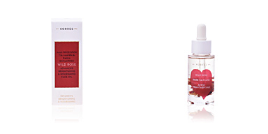 Anti aging cream & anti wrinkle treatment WILD ROSE advanced brightening & nourishing face oil Korres