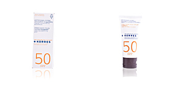 Faciais SUNSCREEN face cream yoghurt SPF50 Korres