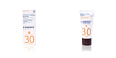 SUNSCREEN face cream yoghurt tinted SPF30 Korres