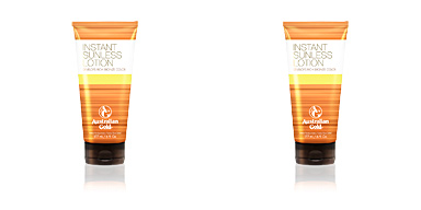 SUNLESS INSTANT rich bronze color lotion Australian Gold