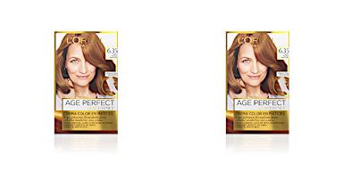 EXCELLENCE AGE PERFECT tinte #6,35-castaño claro doradocaoba L'Oréal Expert Professionnel