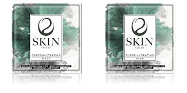 Maschera viso SKIN O2 máscara facial + ácido hialurónico Skin O2
