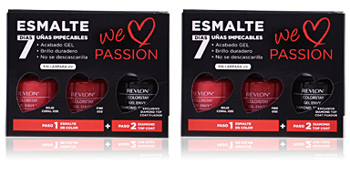 Makeup Set COLORSTAY GEL ENVY WE LOVE PASSION Revlon Make Up