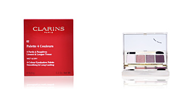 PALETTE 4 COULEURS #02-rosewood 6,9 gr Clarins