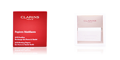 Matifying Treatment Cream PORES & MATITÉS papiers matifiants Clarins