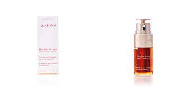 Anti-rugas e anti envelhecimento DOUBLE SÉRUM traitement complet anti-âge intensif Clarins