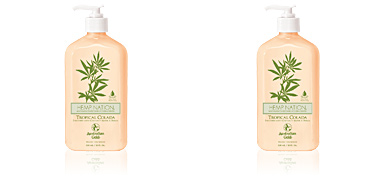 HEMP NATION TROPICAL COLADA hydrating body lotion Australian Gold