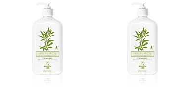 HEMP NATION ORIGINAL tan extender body lotion Australian Gold