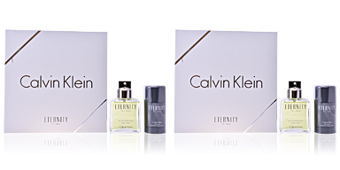 ETERNITY FOR MEN lote 2 pz Calvin Klein