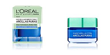 Face mask ARCILLAS PURAS alga marina mascarilla anti-imperfecciones L'Oréal París