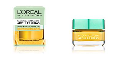 Maschera viso ARCILLAS PURAS limón yuzu mascarilla iluminadora L'Oréal París