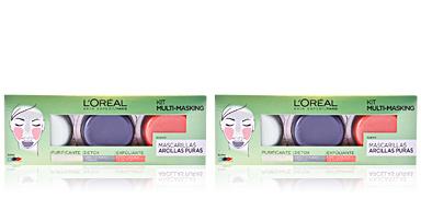 Masque pour le visage KIT MULTI-MASKING ARCILLAS PURAS L'Oréal París