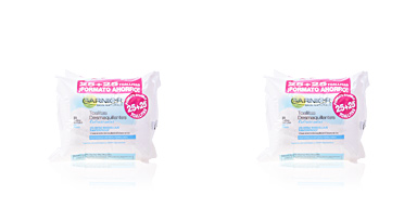 Make-up remover ESSENCIALS toallitas desmaquillantes refrescantes waterproof Garnier