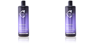 Shiny hair products CATWALK FASHIONISTA violet conditioner Tigi