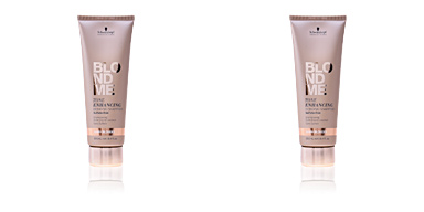 Champú color BLONDME tone enhancing bonding shampoo #warm blondes  Schwarzkopf