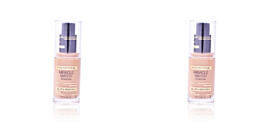 MIRACLE MATCH BLUR & NOURISH foundation #77 soft honey Max Factor