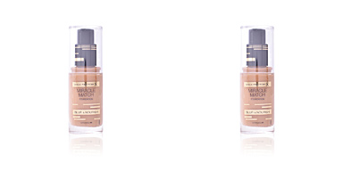MIRACLE MATCH BLUR & NOURISH foundation #85-caramel Max Factor
