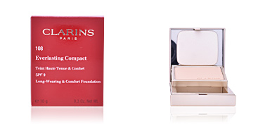Compact powder EVERLASTING COMPACT teint haute tenue&confort SPF9 Clarins