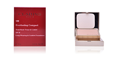 Compact powder EVERLASTING COMPACT teint haute tenue&confort SPF9 Clarins