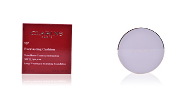 Base de maquillaje EVERLASTING cushion SPF50 Clarins