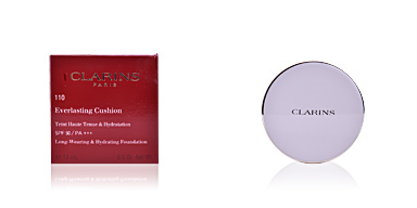 Fondation de maquillage EVERLASTING cushion SPF50 Clarins