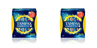 TAMPAX PEARL COMPAK tampón regular 18 uds Tampax