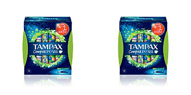 TAMPAX PEARL COMPAK tampón super 18  uds Tampax