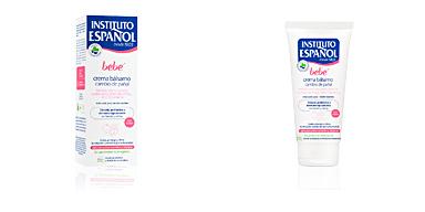 Body moisturiser BEBÉ crema bálsamo cambio de pañal Instituto Español