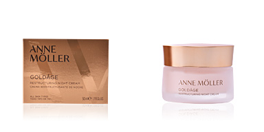 Tratamento para flacidez do rosto GOLDÂGE restructuring night cream Anne Möller