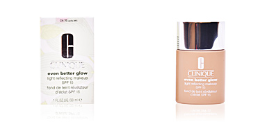 Foundation makeup EVEN BETTER GLOW light reflecting makeup SPF15 Clinique