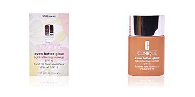 Clinique EVEN BETTER GLOW light reflecting makeup SPF15 #brulée 30 ml