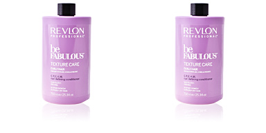 Après-shampooing réparateur BE FABULOUS C.R.E.A.M curl defining conditioner Revlon