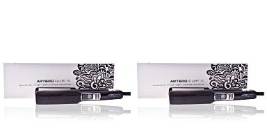 Hair straightener ZENIT professional styler silver XL Artero