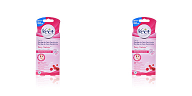 Veet BANDAS DE CERA depilatorias faciales piel normal 20 uds