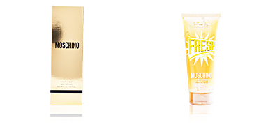 Hidratante corporal FRESH COUTURE GOLD the freshest body lotion Moschino