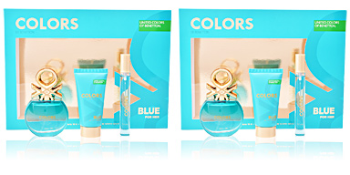 Benetton COLORS BLUE set