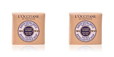 Jabón perfumado KARITE savon extra-doux lait L'Occitane