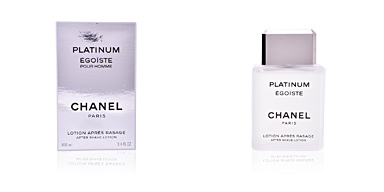 After shave ÉGOÏSTE PLATINUM lotion après rasage Chanel