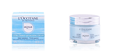 Face moisturizer AQUA RÉOTIER ultra thirst quenching cream L'Occitane