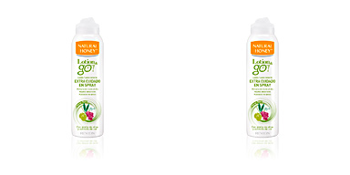 Hidratante corporal LOTION & GO! leche corporal extra cuidado en spray Natural Honey