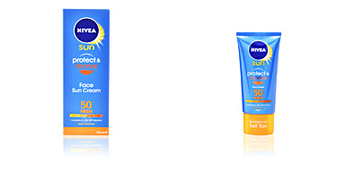 Nivea PROTECT&BRONZE face sun cream SPF50 50 ml