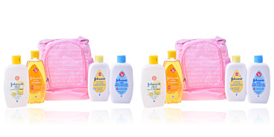 Body moisturiser BABY MOCHILA ROSA SET Johnson's